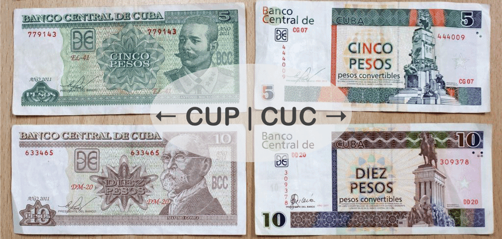 travel to cuba with the correct currency!