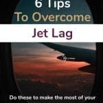 overcoming jet lag