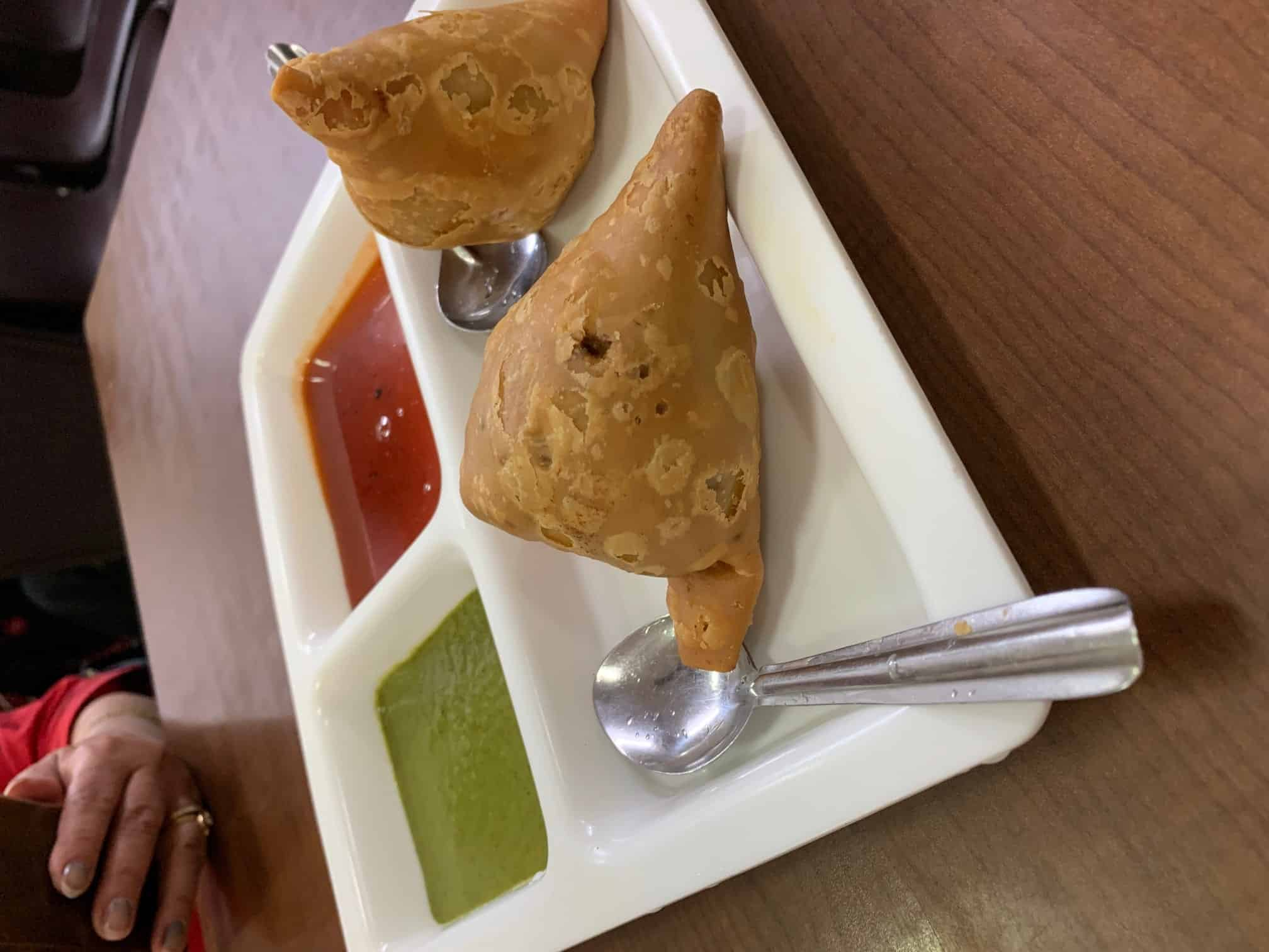 Indian samosas!